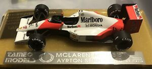 Tameo 1:43 - 1990 Ayrton Senna McLaren MP4/5b - Hand Built By Tameo TM010 - F1