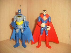 DC Comics Batman & Superman Action Figures Mattel Animation 2013