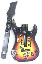 PS3 Guitar Hero World Tour Red Octane Sunburst Wireless Controller 95451805