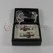 2 x Bombillas 2 LED Angel Eyes BMW H8 E63 E64 E70 E81 E82 E87 E88 E90 E91 E92...