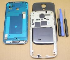 COQUE COMPLETE REMPLACEMENT FACADE CHASSIS POUR SAMSUNG GALAXY S4 LTE i9505 NOIR