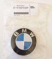 BMW Emblema/Placa Portón Original 74 m m 2, 3, 4. E46,E90,F30,F31