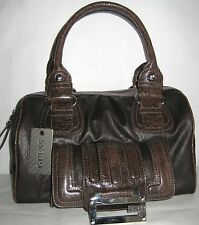 GUESS TAMI Brown Satchel Handbag 100% Authentic NWT