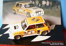 RENAULT 5 TURBO #3 ORTIZ MINGUEZ RALLYE RACE 1983 IXO