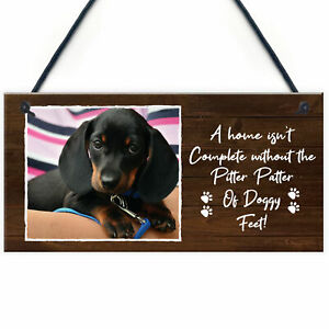 PERSONALISED Dog Gifts Own Photo Plaque Animal Lover Pet Gifts Home Decor