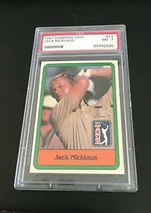 1981 DONRUSS GOLF JACK NICKLAUS #13 PSA 7 NM GREAT CENTERING!!  G.O.A.T.