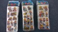 Bob the builder sticker sheets  party supplies loot bags buy 5 get 5 free NEW