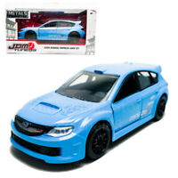 Jada 1:32 JDM Tuners Die-Cast 2008 Subaru Impreza WRX STI Car Blue Model Collect