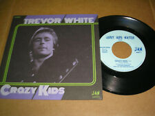 """Trevor White - Crazy Kids b/w Movin' In the Right Direction 7"""" single new"""