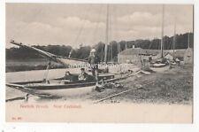 Norfolk Broads Near Coltishall pre 1918 Postcard 117c