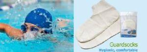 Anti Verruca AV Swim Socks - Swimming Pool Feet Foot Protection 100% Latex NEW