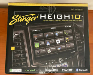 "NEW STINGER HEIGH10 UN1810 10"" Car Stereo Apple CarPlay Android Auto Radio"