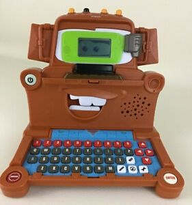 VTech Disney Cars Tow Mater Spy Mission Laptop Computer Educational Learning