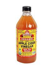 Bragg Organic Raw Apple Cider Vinegar - 473 ml / 16 fl oz (Pack of 2)