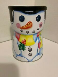 Ashdon Farms Girl Scout Snowman Tin