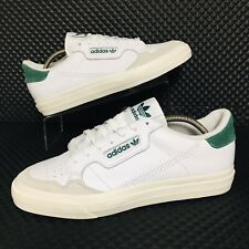 *NEW* Adidas Originals Continental Vulc (Mens Size 10.5) Leather Sneakers White
