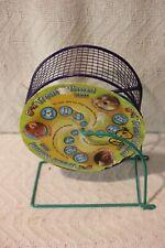 "Ware Regular Run Around 5-3/4"" Purple/Green Exercise Wheel Dwarf Hamster orMouse"