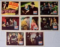 '13 Lead Soldiers' Tom Conway as Bulldog Drummond Lobby Card Set 1948