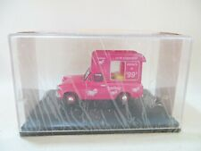 OXFORD DIECAST ANG013 'FORD ANGLIA TONIBELL ICE-CREAM VAN'. PINK. 1:43 MIB/BOXED