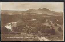 Scotland Postcard - Sir Walter Scott's Favourite View From Bemersyde Hill RS3073