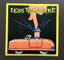 "LESS THAN JAKE - Crash Course In Being An Asshole 7"" Grey Vinyl Record Mint"