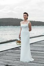 Pronovias 2015 Belwe wedding dress size 10-12 $1500 REDUCED TO $700!
