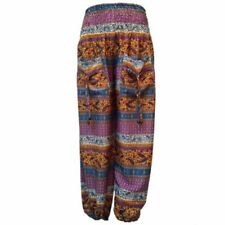 Polyester Hippie Loose Fit Trousers for Women