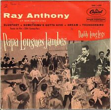 "RAY ANTHONY ""DADDY LONG LEGS"" VOCAL JAZZ 50'S EP CAPITOL 1-597"