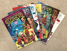 ELFQUEST Siege at Blue Mountain COMPLETE SET 8 issues MINT (#1 SIGNED)
