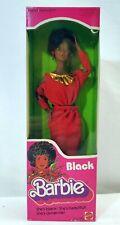 Vintage 1979 First Black Barbie Doll Disco Afro Red Dress Mattel 1293 New Nrfb