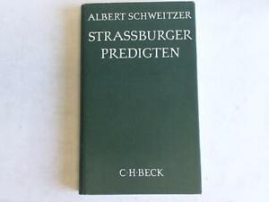 Strassburger Predigten