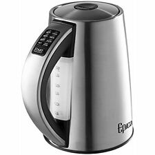6-Temperature Variable Stainless Steel Cordless Electric Kettle