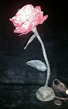 Vintage Enchanted Rose Lamp Nightstand Light Desk Light Walt Disney