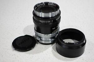Nikon Nikkor-P.C 10.5cm 105mm F2.5 S Mount Lens For S S2 SP S3 S4 Rangefinder