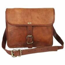 Briefcase Satchel Soft Vintage unique feel Leather Laptop Messenger Bag Shoulder
