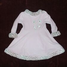 Le Top Sz 4 t Dress Velourblack with cheetah trim HOLIDAY?../