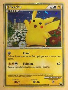 Pikachu Pokemon 2010 Holo PW Pikachu World (Japan Release) Italian VG