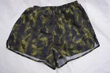 Nike M Woman's running  shorts (8 - 10)  polyester  black / green wvwvwv281