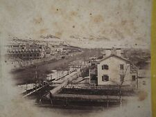 ANTIQUE BRIGHAM YOUNG HOME EARLY SALT LAKE CITY MORMON LDS RARE STEREOVIEW PHOTO