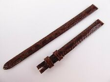 Genuine Jaeger LeCoultre Brown Leather Watch Strap 7mm w3