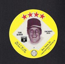 1978 MSA Big T / Tastee Freez Discs TOM SEAVER Cincinnati Reds MINT