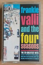 FRANKIE VALLI AND THE FOUR SEASONS 'THE 20 GREATEST HITS' UK CASSETTE
