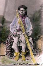A Mescalero Apache Boy - circa 1885 - Historic Photo Print