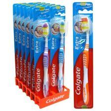 12 Pcs Colgate Extra Clean Toothbrush Medium  Full Head Lot! US SELLER