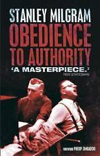 Obedience to Authority: An Experimental View by Stanley Milgram (Paperback,...