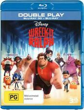 Wreck-It Ralph (3D Blu-ray/Blu-ray)  - BLU-RAY - NEW Region B