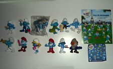 Lotto Stock 12 Puffi Smurfs Pitufos Schtroumpfs Schlümpfe Happy Meal McDonalds