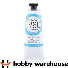 Gamblin 1980 Oil Cerulean Blue 37ml Tube