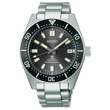 Seiko Japan Gen 2 62MAS Prospex Diver's Gray Dial Men's Stainless Steel Watch