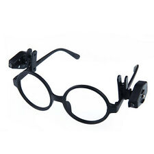 Universal Adjustable LED Glass Eyeglass Clip On Mini Book Reading Light Lamp JX